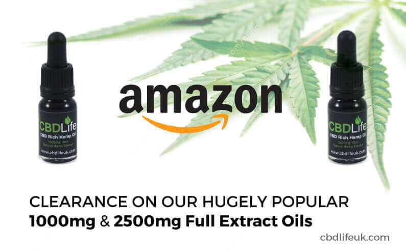 Amazon Product Clearance – CBD Oil Clearance.