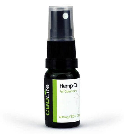 Hemp Oil Spray - 400mg CBD+CBDa