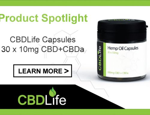 Product Spotlight – CBDLife Capsules 30 x 10mg