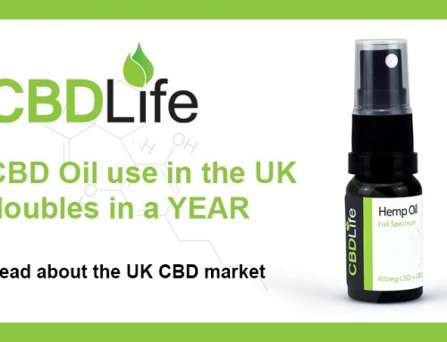 CBD oil use in the UK doubles in a YEAR