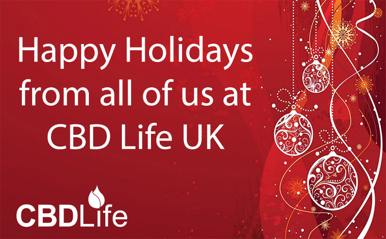 Happy Holidays from all of us at CBD life UK
