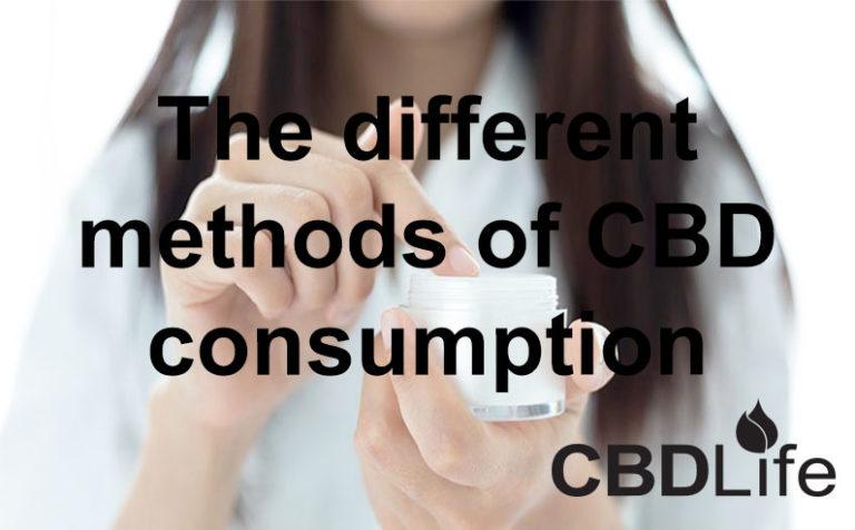 The different methods of CBD consumption