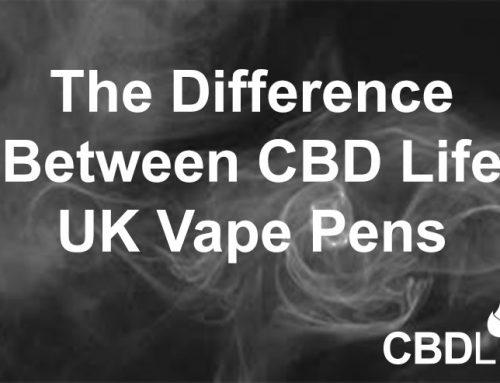 The Difference Between CBD Life UK Vape Pens