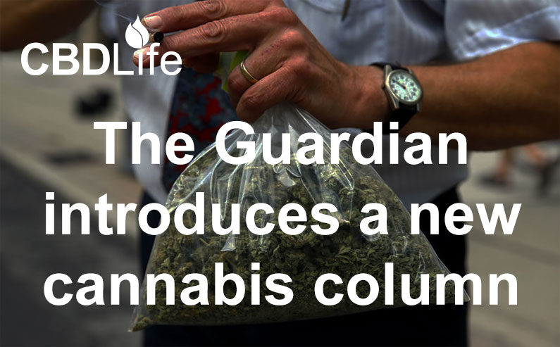 The Guardian introduces a new cannabis column
