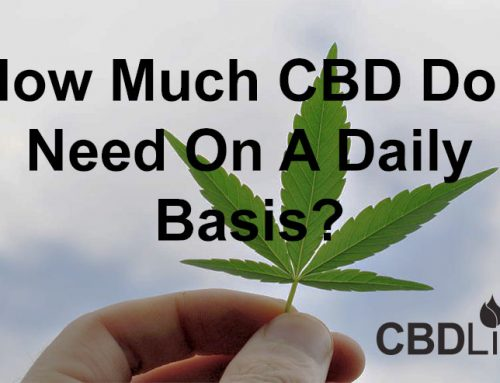 How Much CBD Do I Need On A Daily Basis?
