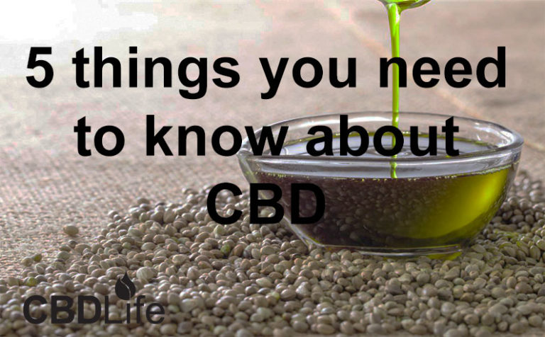 4 things you need to know about CBD