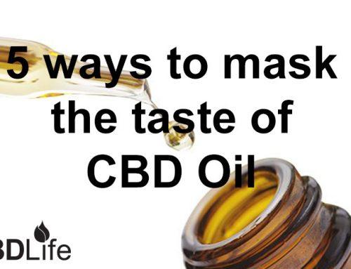 5 ways to mask the taste of CBD Oil