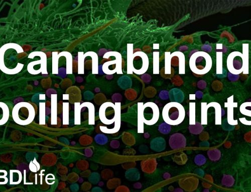 Cannabinoid boiling points