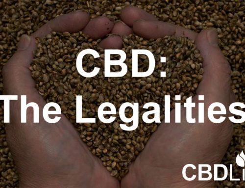 CBD The Legalities