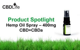 Product Spotlight - Hemp Oil Spray 400mg CBD+CBDa