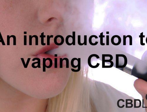 An introduction to vaping CBD