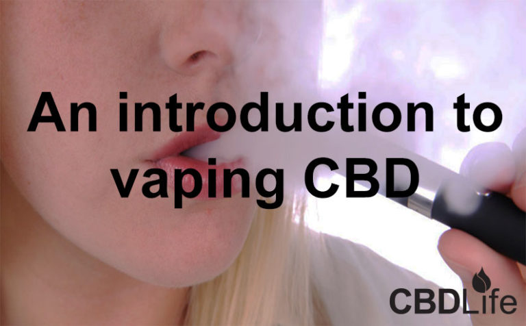 An introduction to vaping CBD