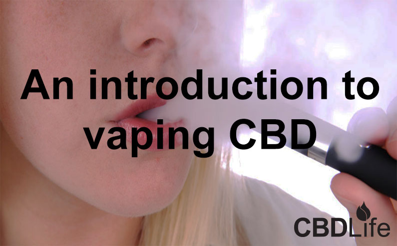 You are currently viewing An introduction to vaping CBD