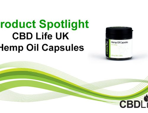 Product Spotlight- CBD Life UK Hemp Oil Capsules