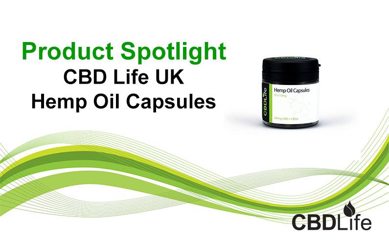Read more about the article Product Spotlight- CBD Life UK Hemp Oil Capsules