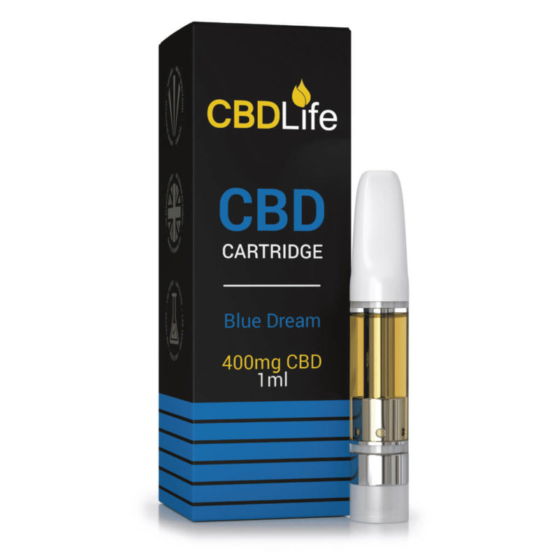 400mg CBDLife Vape Cartridge – 1ml