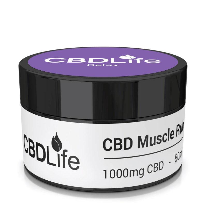 1000mg Muscle Rub - 50ml